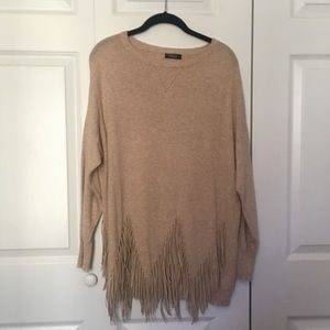 TCEC Fringe Sweater